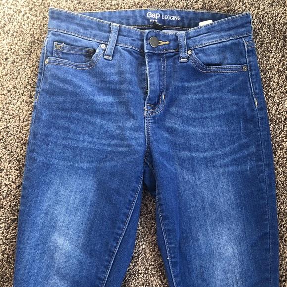 🐈Women's Gap Legging Jeans Bright Blue